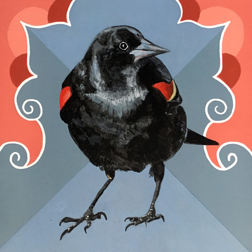 hamil blackbird paintings
