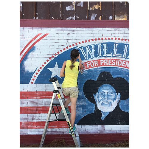 mural artist Wilmington North Carolina